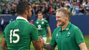 "Rob Kearney: ""The IRFU have great contingency plans in place, and Joe will have helped a great deal with that."""