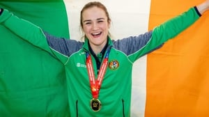 """Kellie Harrington: """"To be able to come back to give them something to lift them up is great."""""""