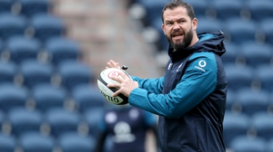 Andy Farrell will lead Ireland into the 2020 Six Nations