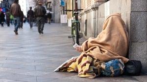 """Under every sleeping bag is a story,"" said Ryan Tubridy"