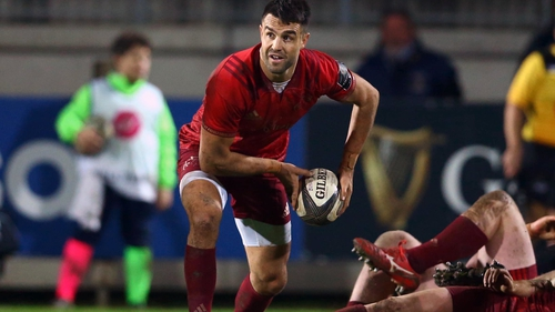 Conor Murray is back in action for Munster