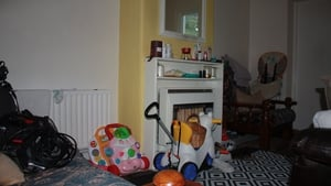 The cluttered Ballyfermot home