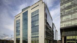 AIB's new office building in Heuston South Quarter in Dublin