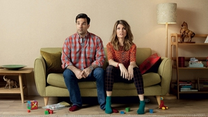 Rob Delaney and Sharon Horgan in Catastrophe