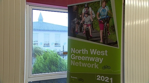 The greenway routes are expected to cost around €18m