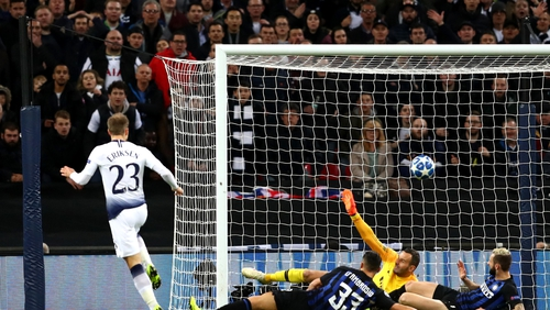 Christian Eriksen slotted home the only goal ten minutes from time