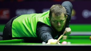 Mark Allen rattled in two centuries on his way to a 6-2 win over Egypt's Basem Eltahhan at the UK Open