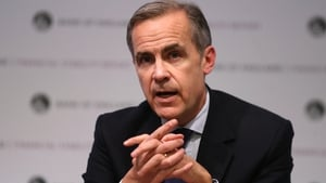 Current Bank of England Governor Mark Carney