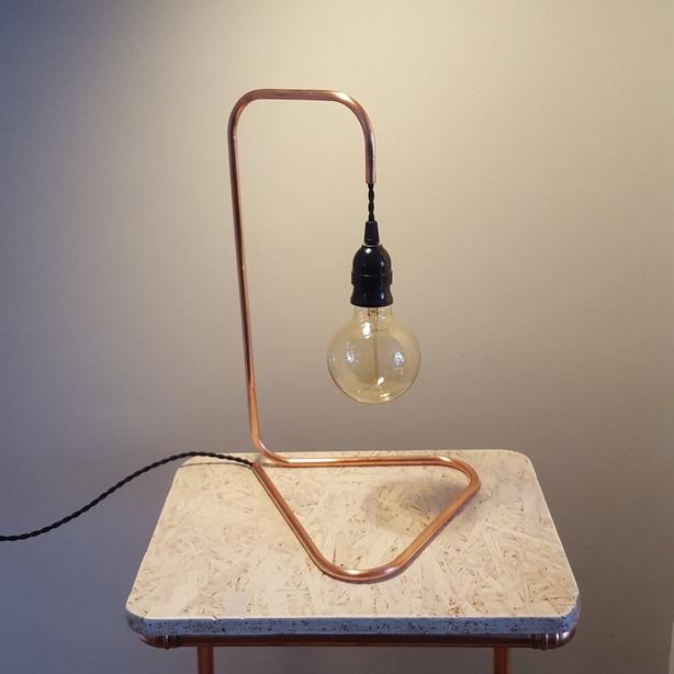 Kopper Kreation Copper Table Lamp