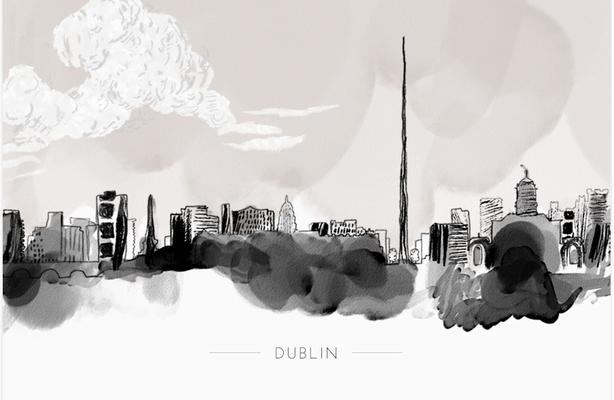 Dusty Boy Designes Dublin Print