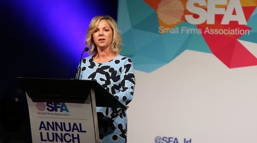 Sue O'Neill, Chair of the SFA, said 2018 was a challenging but successful year for small businesses around the country