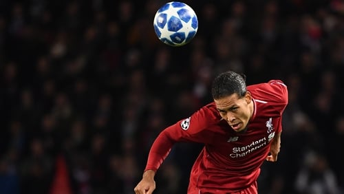 Virgil van Dijk was far from his usual unflappable self