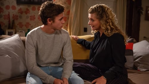 Jacob and his teacher Maya share a kiss on Emmerdale