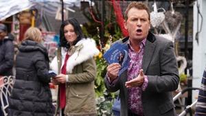 Alfie's return causes all sorts of trouble on EastEnders