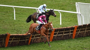 Samcro on his way to winning at Cheltenham last March