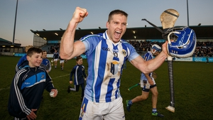 Conal Keaney celebrates after the epic semi-final win over Coolderry