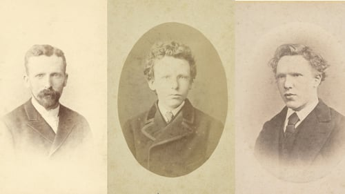 Young Vincent van Gogh' photo is actually