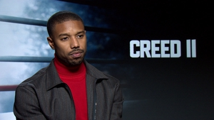 "Michael B. Jordan: ""I didn't know he was going to be passing a torch. It was very emotional"""
