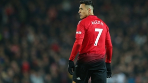 Sanchez has had limited opportunities at Old Trafford this year