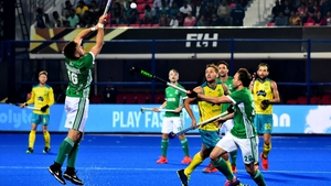 Australia proved to be too strong for Ireland
