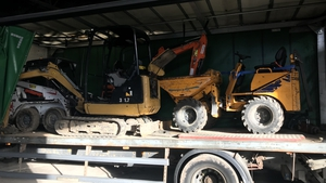 Last week Gardaí uncovered a so-called 'chop shop' where machinery and van parts worth over half a million euro was discovered
