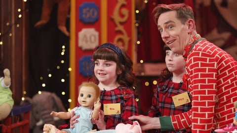 Mya and Ria Morrissey | The Late Late Toy Show