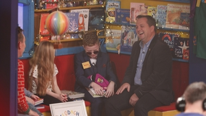 Michael O'Brien and Davy Fitzgerald on the Late Late Toy Show