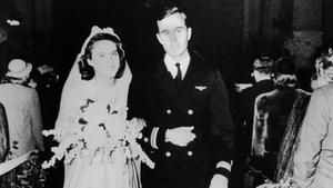 George HW Bush married Barbara Pierce in 1945