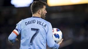 "David Villa: ""I have a new destination. A great challenge awaits."""