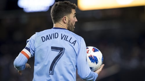 David Villa to join Iniesta in Japan with Vissel Kobe