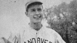 George HW Bush pictured circa 1941