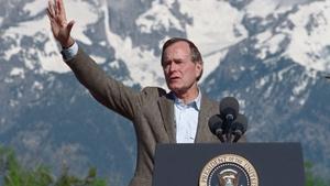 George H W Bush - 1924 to 2018