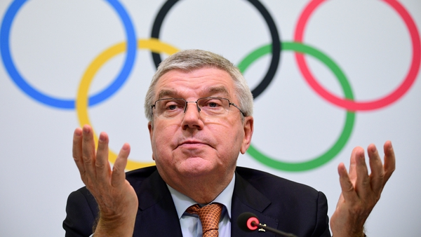 IOC president Thomas Bach's planned visit to Japan this month has been postponed because of the existing state of emergency in the country