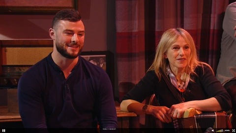 Robbie Henshaw & Family   The Ray D'Arcy Show