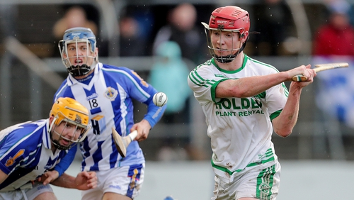 Adrian Mullen lashed home both of Ballyhale's goals