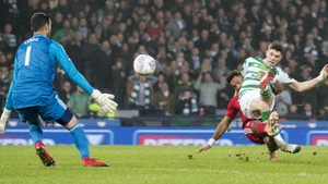 Ryan Christie scored the only goal of the game just before half-time