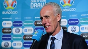 Mick McCarthy was in Dublin for the Euro 2020 qualifying draw