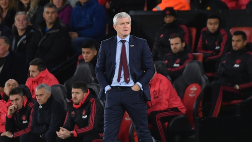 Mark Hughes had been in charge since last March