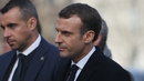 French President Emmanuel Macron has been the target of many protesters' anger over his perceived pro-rich policies