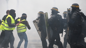 Saturday saw the worst clashes in central Paris in decades