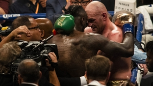 A thrilling contest between Deontay Wilder and Tyson Fury was called a draw