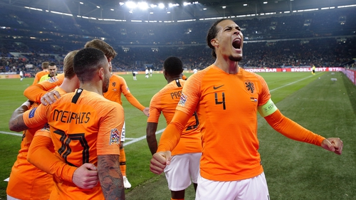 England will play the Netherlands in UEFA Nations League semi-finals
