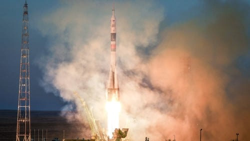 """The rocket was """"successfully launched into orbit"""" this morning"""