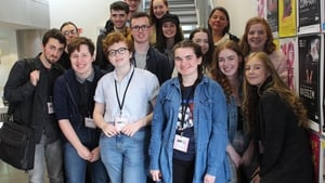 The Young Critics class of 2018 gather in Dublin
