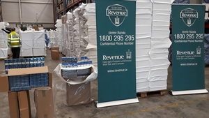 The seized cigarettes were branded Mayfair and Richmond and represented a potential loss to the exchequer of €3.3m