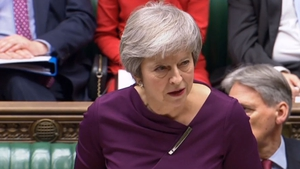 Theresa May insisted she would still have a job in two weeks' time