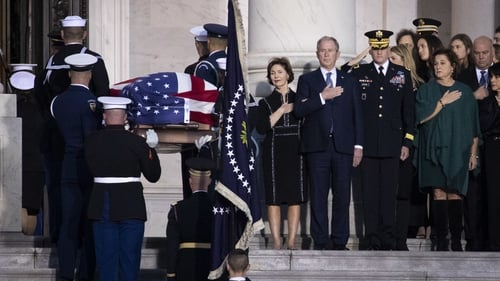 Mr Bush Sr served as US President from 1989 to 1993