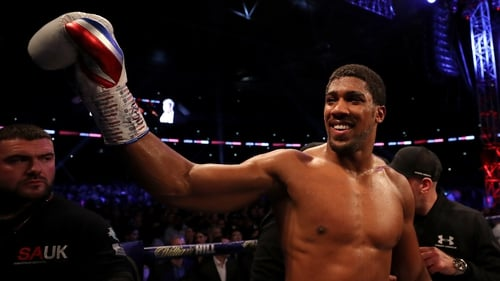 Anthony Joshua wants to fight Tyson Fury, according to Eddie Hearn