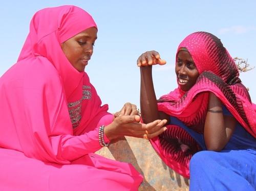 Ifrah Ahmed in Somalia