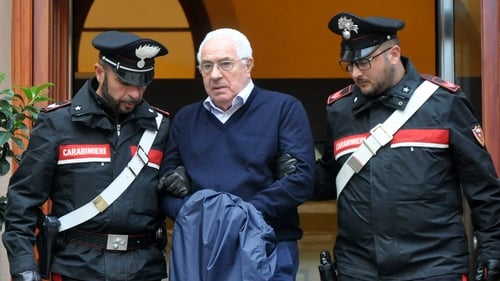 Upper ranks of Sicilian mob dismantled with arrests